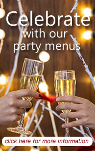 Tunbridge Wells Party Menus